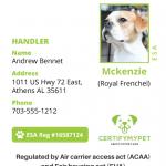 Sample of ID Card