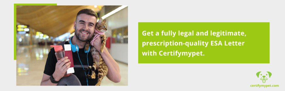 ESA Letter with Certifymypet
