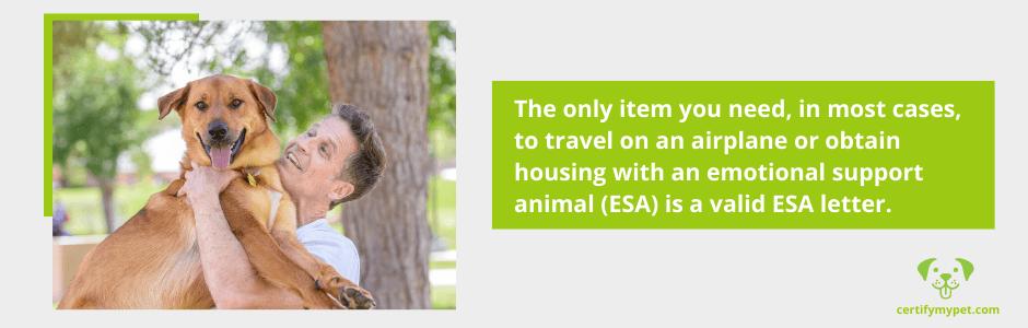 register emotional support animal