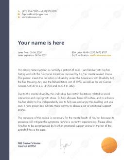 Letter Sample